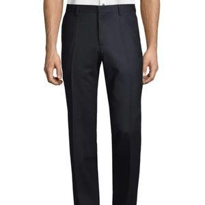 Hugo Boss Mens Black Wool Trousers 40R